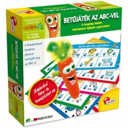 Lisciani Carotina - Betűjáték az ABC-vel készségfejlesztő játék