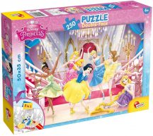 Lisciani 48083 Double-Face puzzle - Disney Hercegnők (250 db-os)