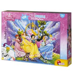 Lisciani 48274 Double-Face Maxi puzzle - Disney Hercegnők (108 db-os)
