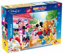 Lisciani Double-Face Maxi puzzle - Mickey (150 db-os) 48328