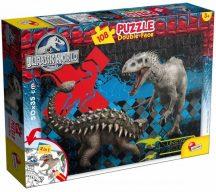 Lisciani 48632 Double-Face puzzle - Jurassic World (108 db-os)