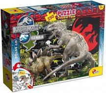 Lisciani 48649 Double-Face puzzle - Jurassic World (250 db-os)