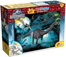 Lisciani Double-Face Maxi puzzle - Jurassic World - Apatosaurus (108 db-os) 48670