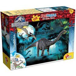 Lisciani 48670 Double-Face Maxi puzzle - Jurassic World - Apatosaurus (108 db-os)