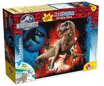 Lisciani Double-Face Maxi puzzle - Jurassic World - Predator (150 db-os) 48687