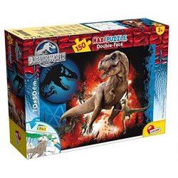 Lisciani 48687 Double-Face Maxi puzzle - Jurassic World - Predator (150 db-os)