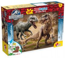 Lisciani 52868 Double-Face Maxi puzzle - Jurassic World - Fight (108 db-os)