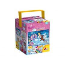 Lisciani Double-Face Maxi puzzle dobozban - Hamupipőke (120 db-os) 53537
