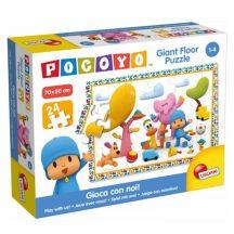 Lisciani 65950 Pocoyo óriás padló puzzle - Játssz velünk! (24 db-os)