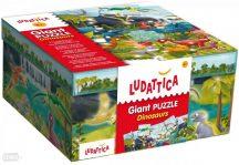 Ludattica 51373 Óriás puzzle - Dínók 100 x 70 cm