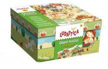 Ludattica 52479 Óriás puzzle - Farm 100 x 70 cm