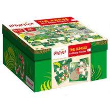 Ludattica 58181 8+1 Baby puzzle - Dzsungel