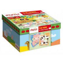 Ludattica 58198 8+1 Baby puzzle - Farm