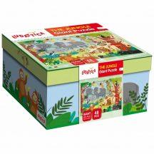 Ludattica 58310 Óriás puzzle - Dzsungel 100 x 70 cm