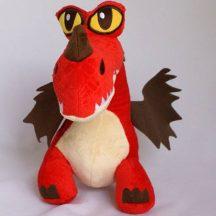 Így neveld a sárkányodat KAMPÓ plüss figura 22 cm