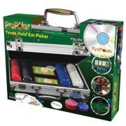 ProPoker Texas Hold'em póker szett oktató DVD-vel