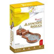CubicFun MC092H 3D puzzle - Szent Péter Bazilika (144 db-os)