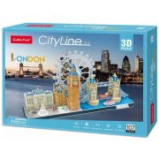 CubicFun MC253 3D City Line puzzle - London (107 db-os)