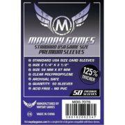 Mayday Games Premium USA méretû kártyavédõ 50 db-os csomag (56 x 87 mm)