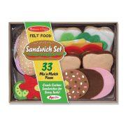 Melissa & Doug Filc szendvics készítő (33 db-os)