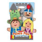 Melissa & Doug bábjátékok - Kastély lakói