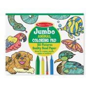 Melissa & Doug Jumbo színező - Állatok