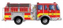 Melissa & Doug 24 db-os padló puzzle - Tűzoltó autó