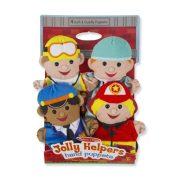 Melissa & Doug Bábjátékok Jolly segítők