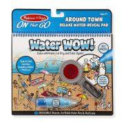 Melissa & Doug Rajzolás vízzel Deluxe készlet - A város körül