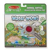 Melissa & Doug Rajzolás vízzel Deluxe készlet - Állati bohócságok