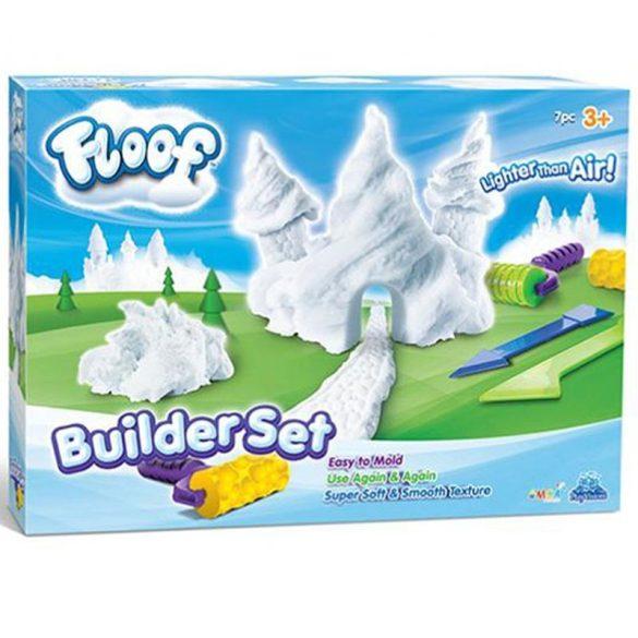 Floof! Hópehely gyurma 7db-os építő készlet