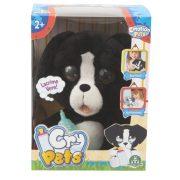 Cry Pets Pityergő kiskutya (fekete)
