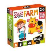 Headu 2 részes Formapuzzle - Farm