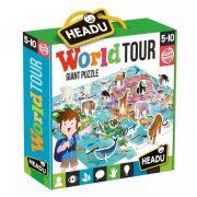 Headu - Óriás puzzle - Világkörüli út