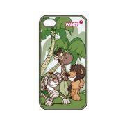 NICI iPhone 4/4s telefon tok - Tigris, oroszlán és zsiráf