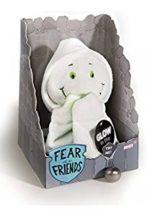 NICI Fear Friends plüss figura - SZELLEM 20 cm fluoreszkáló