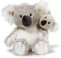 NICI Wild Friends plüss koalapár - nagy 20 cm, kicsi 12 cm