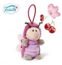 NICI Frischi illatos plüss figura - Pillangó cseresznye illattal 8 cm