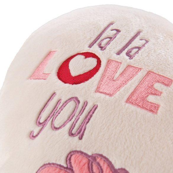 NICI La-La-Llama-Love Szív alakú párna (25x22 cm)