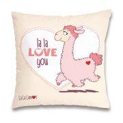 NICI La-La-Llama-Love Párna