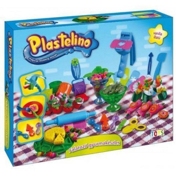 Plastelino Falatozó gyurmák