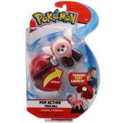 Pokémon - Poké labda kilőhető Stufful plüss figurával