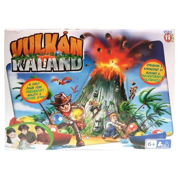 Vulkán Kaland társasjáték