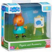 Peppa malac - Játékfigura kiegészítővel (többféle)