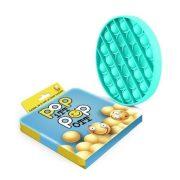 Pop-it buborék pukkasztó játék - Türkiz, rózsaszín, citromsárga vagy narancssárga