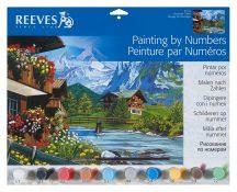 Reeves Festés számok után - Hegyvidék
