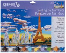 Reeves Festés számok után - Eiffel-torony