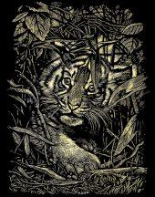 Reeves Arany képkarcoló - Rejtőzködő tigris