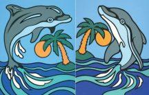 Reeves Első festményem - Delfinek