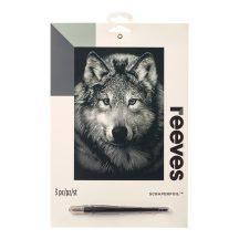 Reeves Ezüst képkarcoló - Farkas